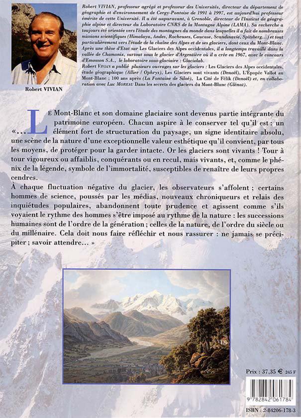 Robert Vivian, Des Glaciers du Faucigny aux Glaciers du Mont-Blanc Glacier04